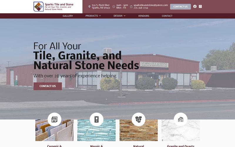 BDG | Portfolio | Sparks Tile and Stone